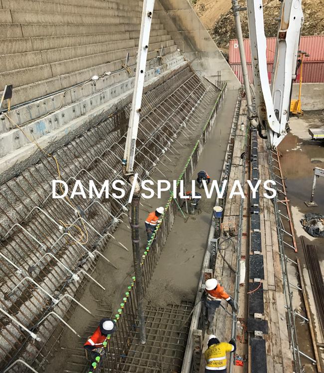Dams/Spillways